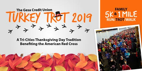 Gesa Credit Union 2019 Turkey Trot benefiting the American Red Cross tickets