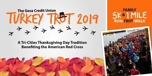 Gesa Credit Union 2019 Turkey Trot benefiting the American Red Cross