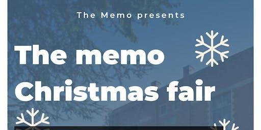 The Memo: Christmas Fair (Sunday)