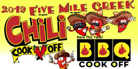 2019 Five Mile Creek Chili & BBQ Cook Off tickets