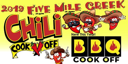 2019 Five Mile Creek Chili & BBQ Cook Off