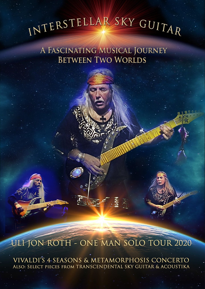Uli Jon Roth: One Man Solo Tour-RESCHEDULING- ALL TICKETS HONORED image