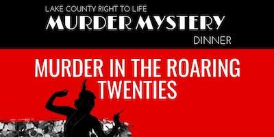 Murder Mystery Dinner- 1920s