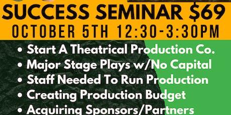 Powerhouse Productions Success Seminar tickets