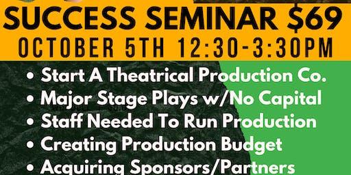 Powerhouse Productions Success Seminar