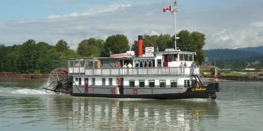 Paddlewheeler Riverboat Tour on the Fraser River