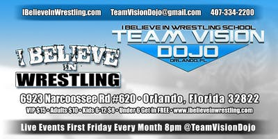 First Friday Every Month - Live Family-Friendly Pro Wrestling