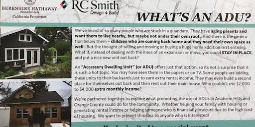 What's an ADU?
