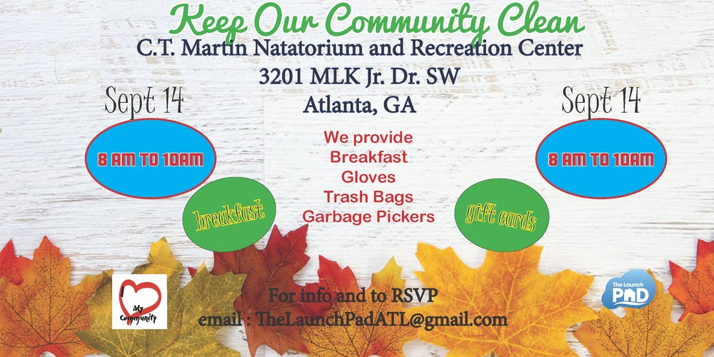 September Community Clean Up Tickets, Sat, Sep 14, 2019 at 8