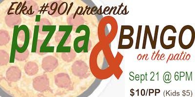 Elks #901 Pizza & Bingo on the Patio