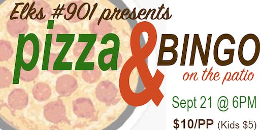 Elks #901 Pizza & Bingo on the Patio