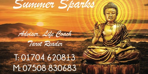 Summer Sparks Breakfast and Tarot Reading One to One £15