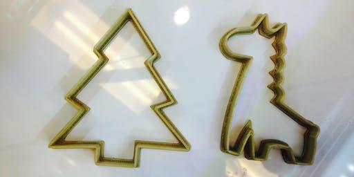 Biblio jeunesse: Impression 3D: pièce à biscuit/3D Printing:Cookie Cutters