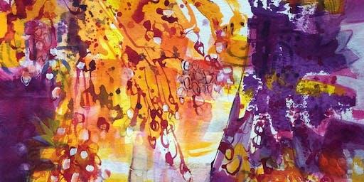 Kathleen Mooney-Color and Acrylics!