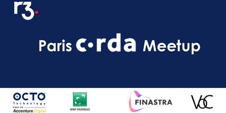 Paris Corda Meetup billets