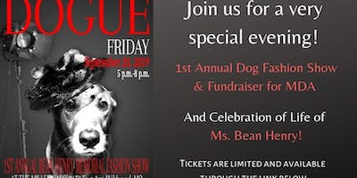 1st Annual Bean Henry Dog Fashion Show