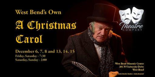 West Bend's - A Christmas Carol - 2019
