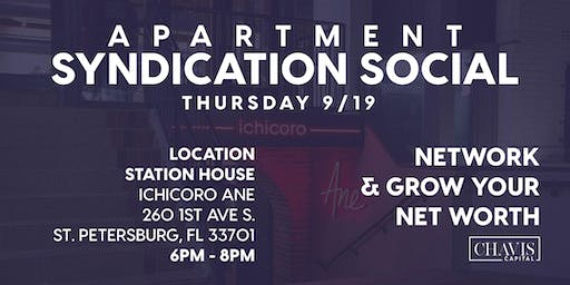 Apartment Syndication Social: A Networking Event For Investors