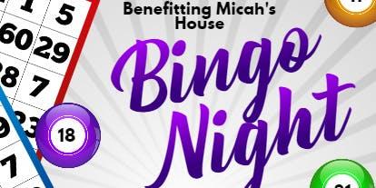 Bingo Night benefiting Micah's House
