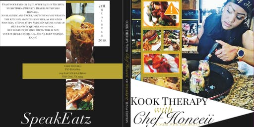 Chef Honeeiiz Kook Book Signing,Mixer & Pop Up Shop!! FREE