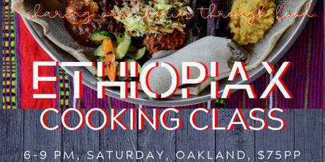 Ethiopiax Cooking Class tickets