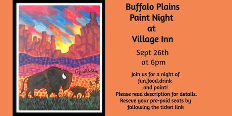 Buffalo Plains Paint Night at Village Inn tickets