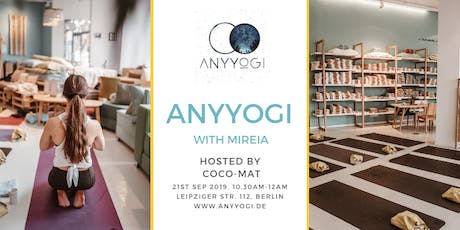 Special Anyyogi event with Mireia tickets