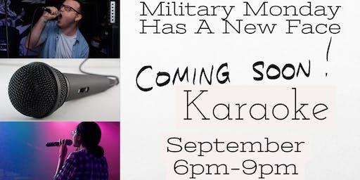 Military Monday Karaoke!!