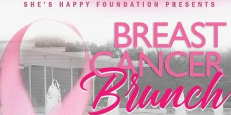 The She's Happy Foundation presents: BREAST CANCER AWARENESS BRUNCH  tickets