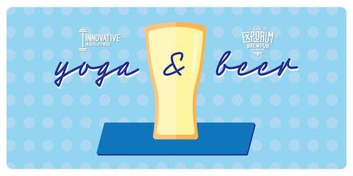 Yoga and Beer with Innovative Health & Explorium Brewpub