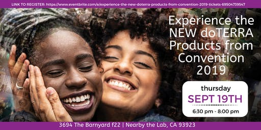 Experience the NEW doTERRA Products from Convention 2019