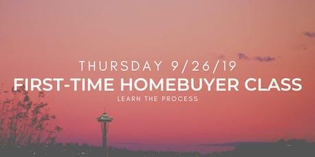 First-Time Homebuyer Class tickets