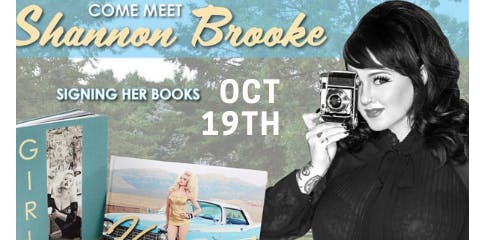 Fortune Favors The Bold: Book Signing & Art Show featuring Shannon Brooke