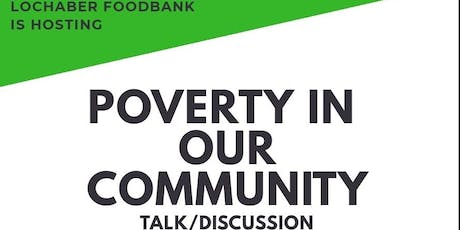 Poverty in our community talk tickets