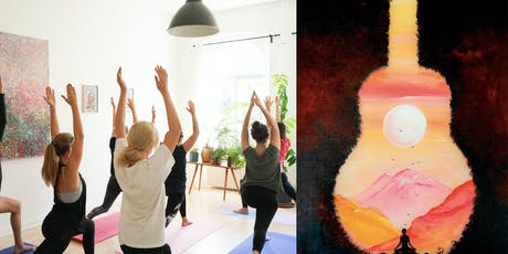 Yoga & Guided Painting billets