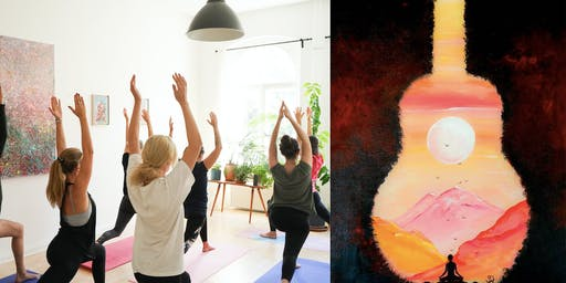 Yoga & Guided Painting