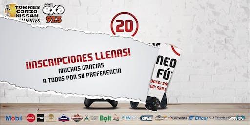 Torneo Virtual de fútbol 20 Nissan Torres Corzo / Exa Fm