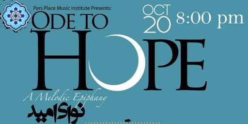 Ode To Hope Concert - 8:00 PM Performance