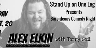 Comedy Night @ Barsideous Brewing - Alex Elkin