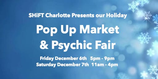 Holiday Market & Psychic Fair 2019