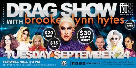 Drag Show with Brooke Lynn Hytes tickets