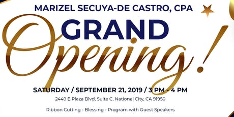 Accounting & Tax Professionals Grand Opening tickets