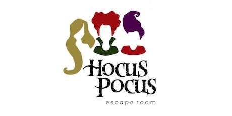 Hocus Pocus Escape Room tickets