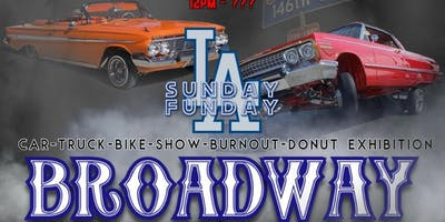 BROADWAY PRESENTED BY LA SUNDAY FUNDAY
