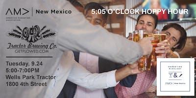 5:05 O'Clock Hoppy Hour NMAMA Mixology Event
