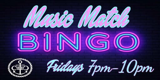 Join us for Music Match Bingo!!