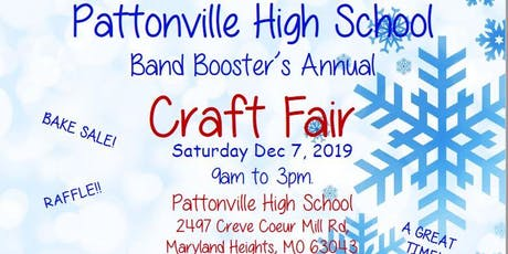 2019 PATTONVILLE BAND BOOSTERS CRAFT FAIR tickets