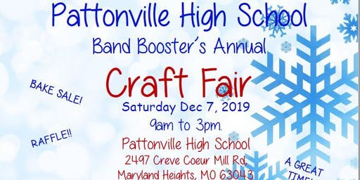 2019 PATTONVILLE BAND BOOSTERS CRAFT FAIR