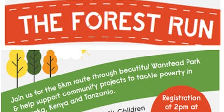 Forest Run 2019-5K Run in Wanstead Park E11 tickets