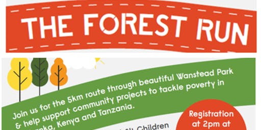 Forest Run 2019-5K Run in Wanstead Park E11